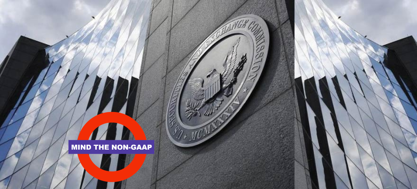 Researching SEC Comment Letters - Mind the Non-GAAP