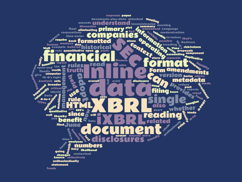 XBRL: A Single Source of Truth