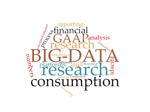 BIG DATA.  BIG ANALYSES. BIG CONSUMPTION.
